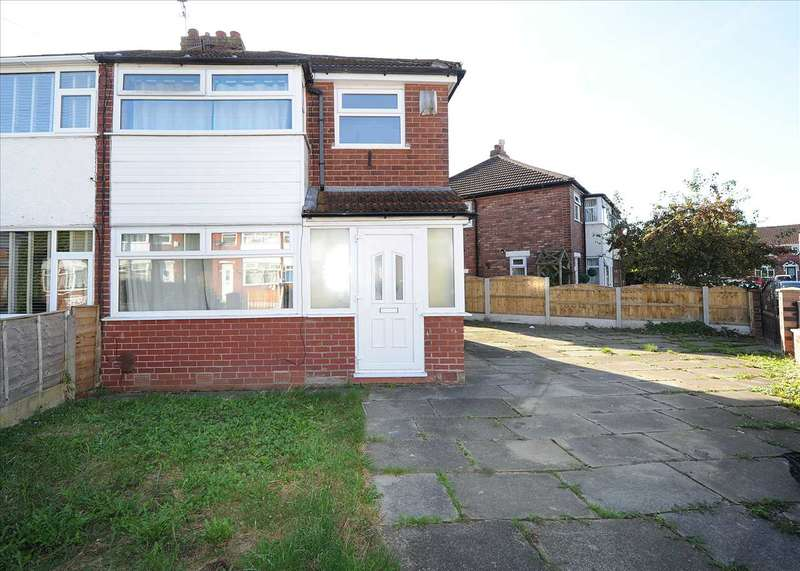 3 Bedrooms Semi Detached House for sale in 8 Harewood Road, Irlam M44 6DJ