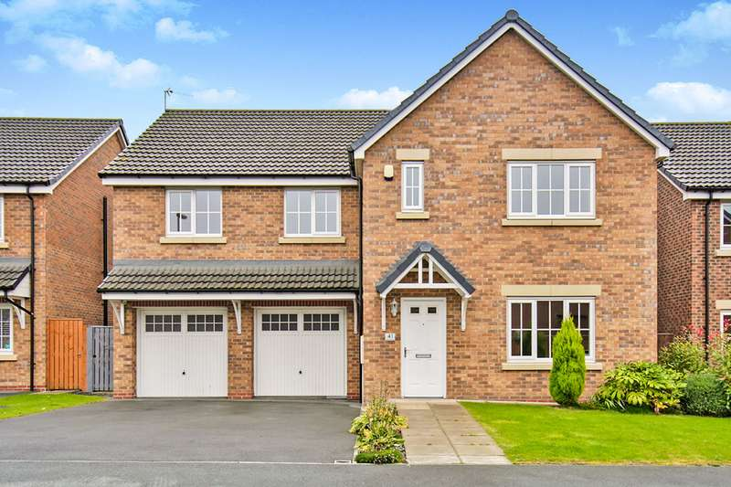 6 Bedrooms Detached House for sale in Clement Way, Willington, Crook, Durham, DL15