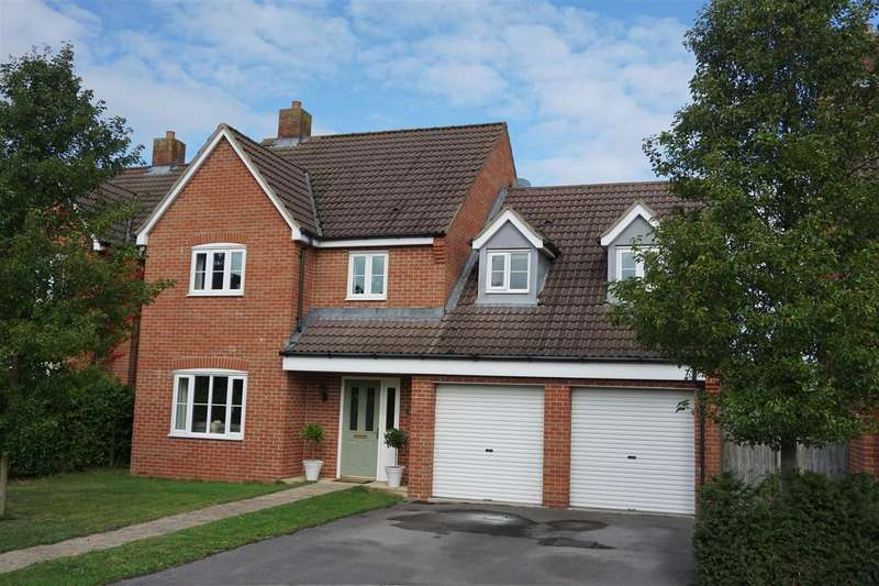 4 Bedrooms Detached House for sale in Witchcombe Close, Great Cheverell, Devizes