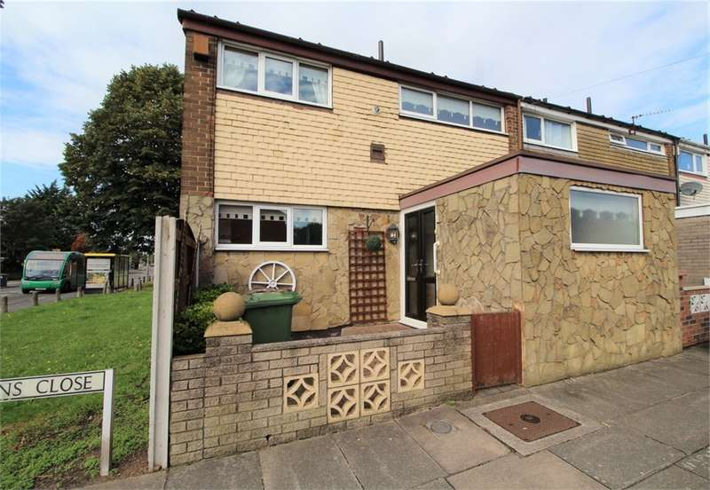 3 Bedrooms End Of Terrace House for sale in Pattens Close, Netherton, Liverpool, Merseyside
