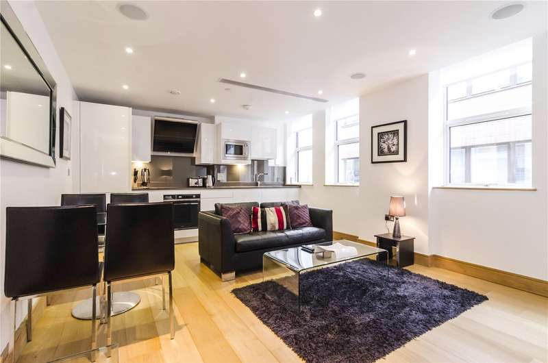 1 Bedroom Flat for sale in Red Lion Court, London, EC4A