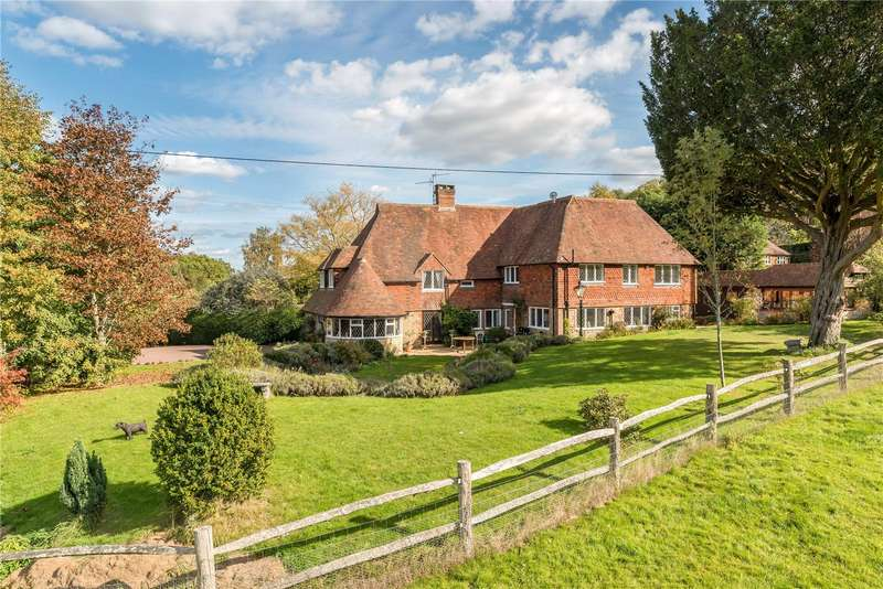 4 Bedrooms Detached House for sale in Hill Grove, Lurgashall, Petworth, West Sussex, GU28