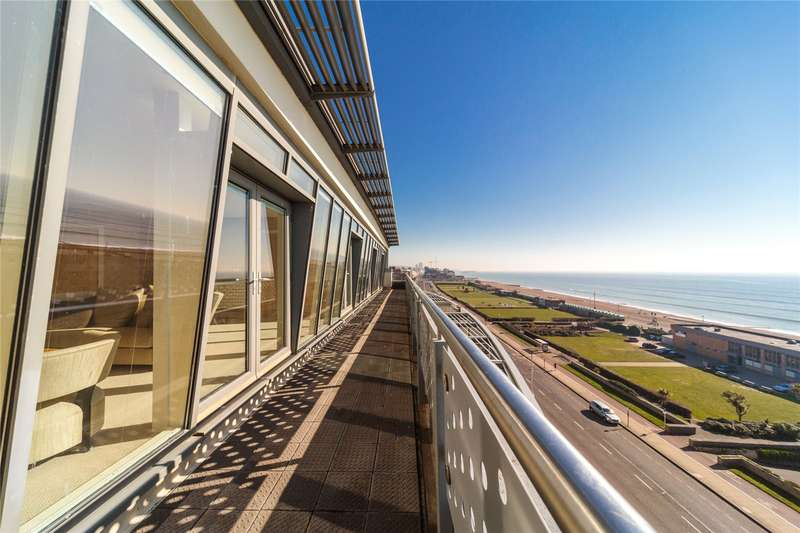 3 Bedrooms Apartment Flat for sale in Horizon, 205-209 Kingsway, Hove, East Sussex, BN3