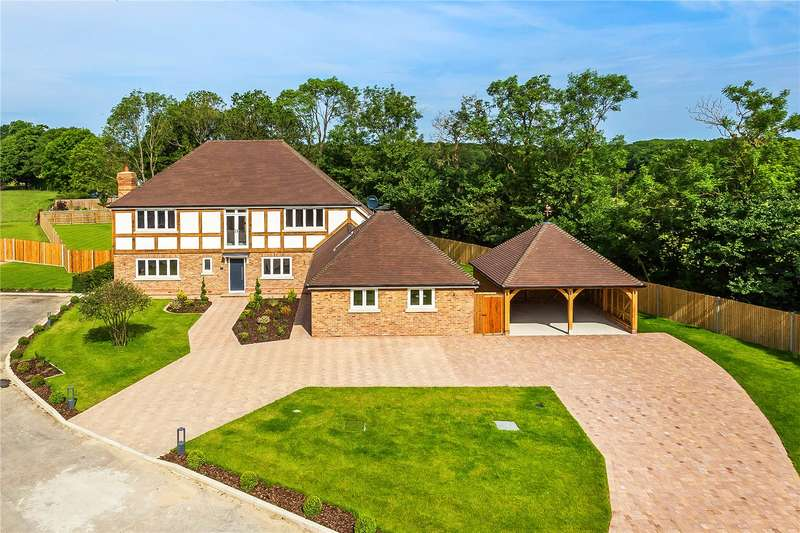 5 Bedrooms Detached House for sale in Honeypot Farm, Honeypot Lane, Edenbridge, Kent, TN8