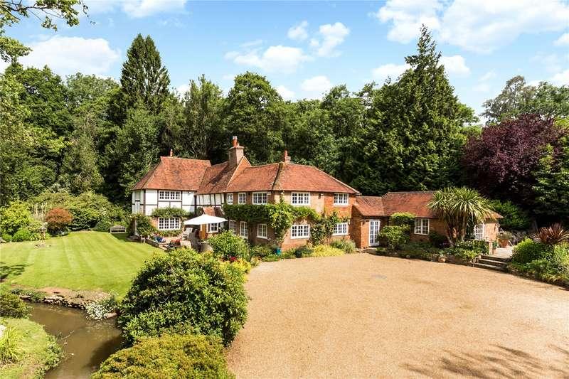 5 Bedrooms Detached House for sale in Hanging Birch Lane, Horam, Heathfield, East Sussex, TN21