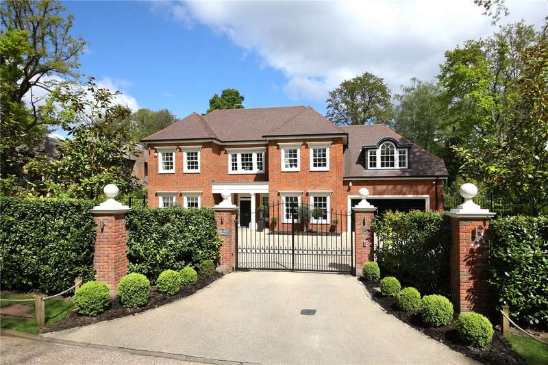 5 Bedrooms Detached House for sale in Llanvair Drive, Ascot, Berkshire, SL5