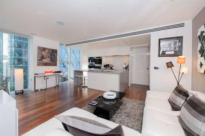 2 Bedrooms Apartment Flat for sale in The Heron, Silk Street, City, London, EC2Y
