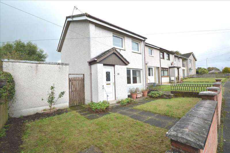 2 Bedrooms End Of Terrace House for sale in Muirburn Place, Strathaven
