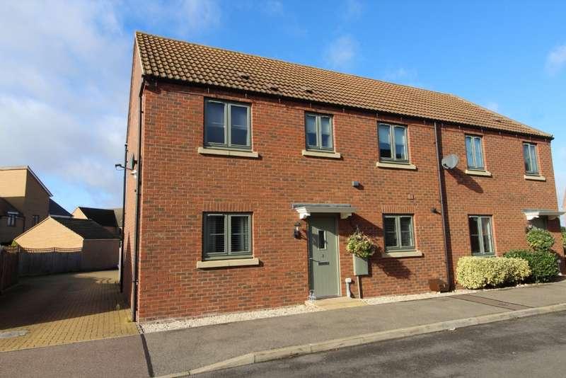 3 Bedrooms Semi Detached House for sale in Fair Isle View, Oakridge Park, Milton Keynes, Buckinghamshire