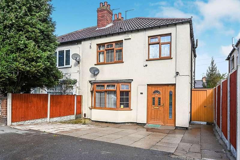 3 Bedrooms Semi Detached House for sale in Osmaston Park Road, Derby, Derbyshire, DE24