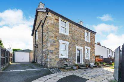 4 Bedrooms Detached House for sale in Mowbrick Lane, Hest Bank, Lancaster, Lancashire, LA2