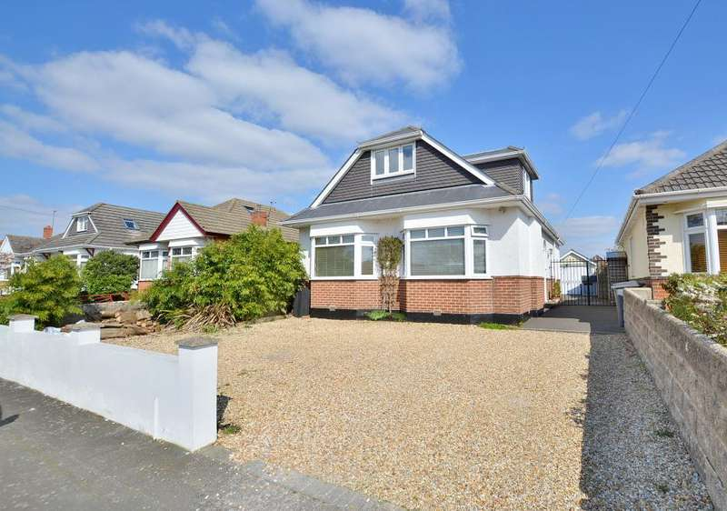 4 Bedrooms Detached House for sale in Hill View Road, Northbourne, Dorset, BH10 5BJ