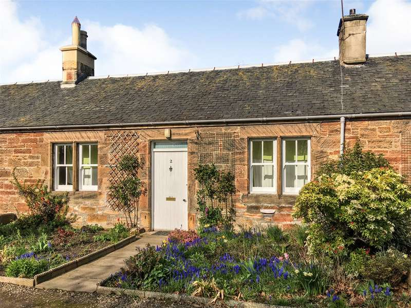 2 Bedrooms Terraced Bungalow for sale in 2 Thornybank Cottage, Dalkeith, Midlothian, EH22