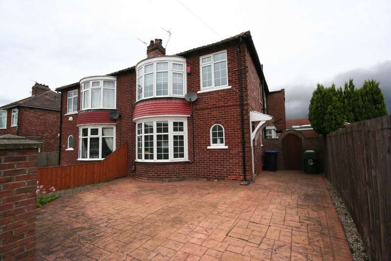 4 Bedrooms Semi Detached House for sale in St. Margaret's Grove, Acklam, Middlesbrough, TS5