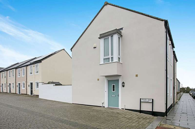 3 Bedrooms End Of Terrace House for sale in Perry Way, Camborne, Cornwall, TR14