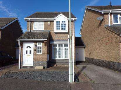 3 Bedrooms Link Detached House for sale in Clover Avenue, Riverfield Drive, Bedford, Bedfordshire