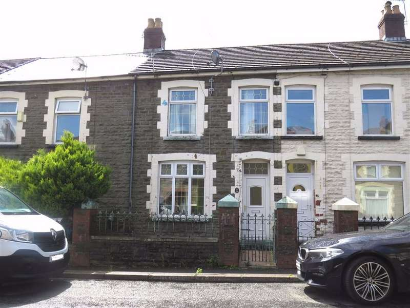 3 Bedrooms Terraced House for sale in Glanville Terrace, Ferndale