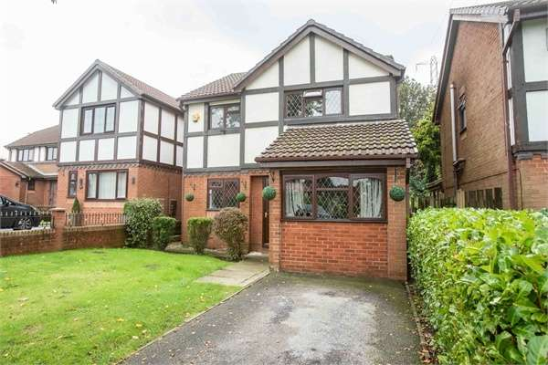 3 Bedrooms Detached House for sale in Launceston Road, Radcliffe, Manchester, Lancashire