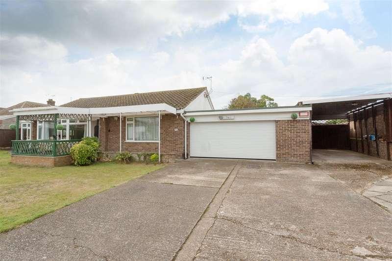 3 Bedrooms Detached Bungalow for sale in Alison Close, Birchington