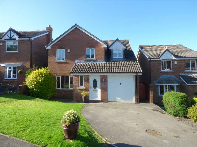 4 Bedrooms Detached House for sale in Buttercup Drive, Moorside, Oldham, Greater Manchester, OL4