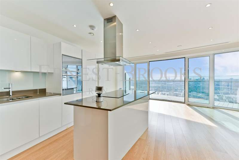 2 Bedrooms Apartment Flat for sale in Arena Tower, 25 Crossharbour Plaza, Canary Wharf, London, E14