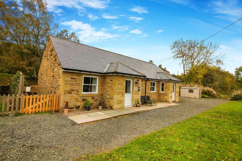 2 Bedrooms Detached Bungalow for sale in Falstone, Hexham