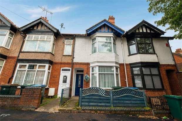 4 Bedrooms Terraced House for sale in St Michaels Road, Coventry, West Midlands
