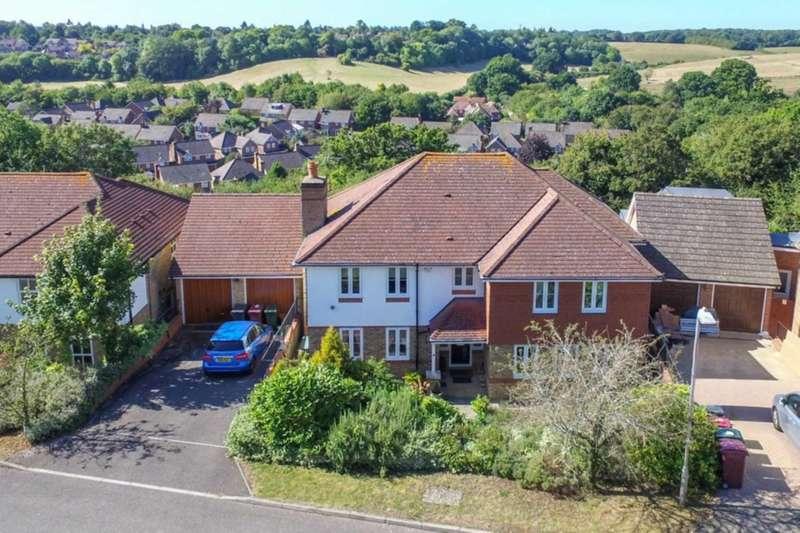 5 Bedrooms Detached House for sale in Merthyr Vale, Emmer Green, Reading