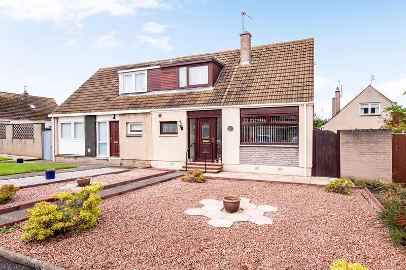 2 Bedrooms Semi Detached House for sale in Stoneybank Avenue, Musselburgh, EH21