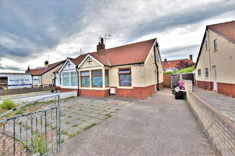 3 Bedrooms Semi Detached Bungalow for sale in Penrith Avenue, Thornton-Cleveleys
