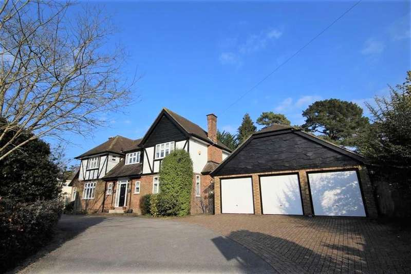 4 Bedrooms Detached House for sale in Aldridge Road, Ferndown, BH22