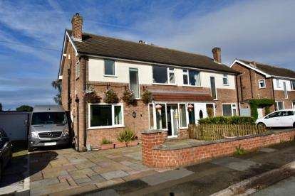 3 Bedrooms Semi Detached House for sale in Tabley Close, Knutsford, Cheshire