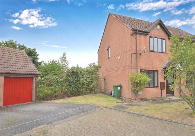3 Bedrooms Semi Detached House for sale in Champflower, Furzton