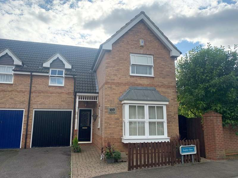 4 Bedrooms Semi Detached House for sale in Doulton Close, Harlow