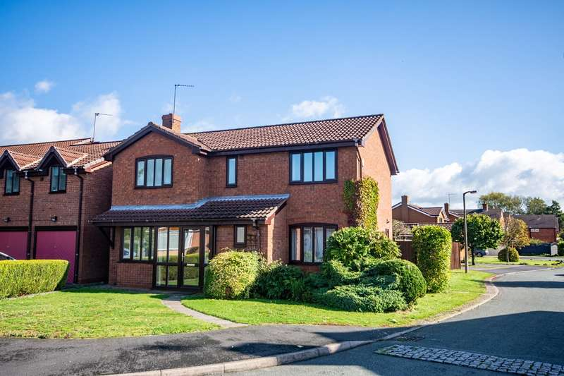 4 Bedrooms Detached House for sale in Oaklands Close, Hill Ridware, Rugeley, WS15