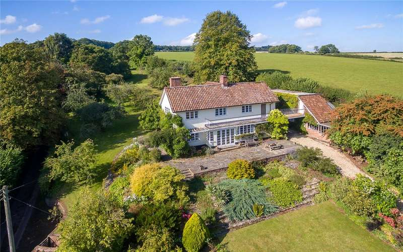 4 Bedrooms Detached House for sale in Combe Florey, Taunton, Somerset, TA4