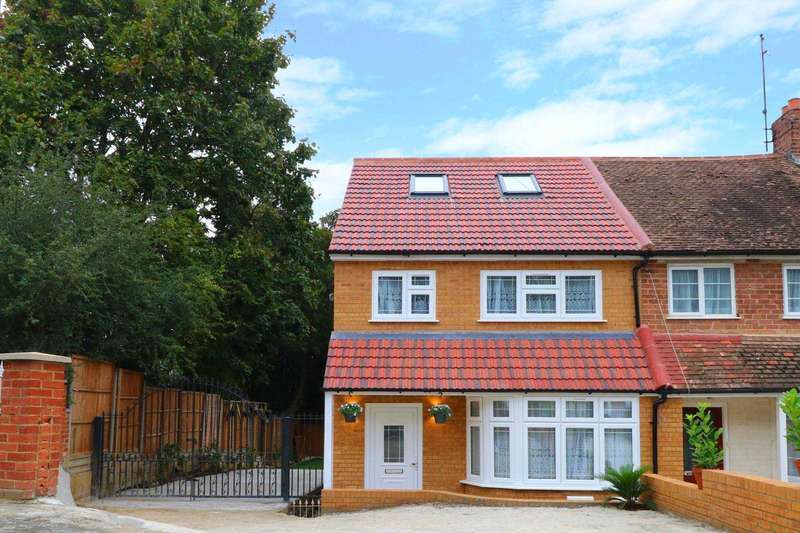 4 Bedrooms End Of Terrace House for sale in Thirlmere Avenue, Reading