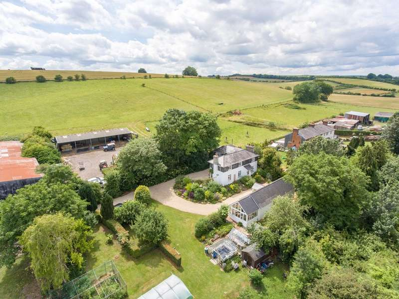4 Bedrooms House for sale in Wylye. Superb small farm on the edge of the rolling chalk downs. 40 acres; house, annexe, buildings