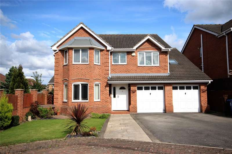4 Bedrooms Detached House for sale in Churcroft, Redbrook, Barnsley