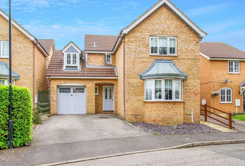 4 Bedrooms Detached House for sale in Weldon, Northants, NN173EE