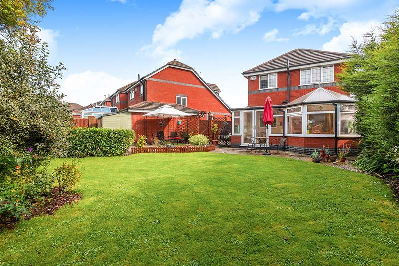 3 Bedrooms Detached House for sale in Spelding Drive, Standish Lower Ground, Wigan, Greater Manchester, WN6