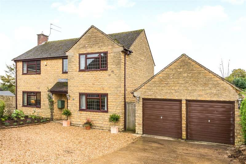 4 Bedrooms Detached House for sale in Norris Acre, Hinton-in-the-Hedges, Brackley, Northamptonshire, NN13