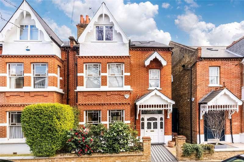 6 Bedrooms Semi Detached House for sale in Ennismore Avenue, London, W4