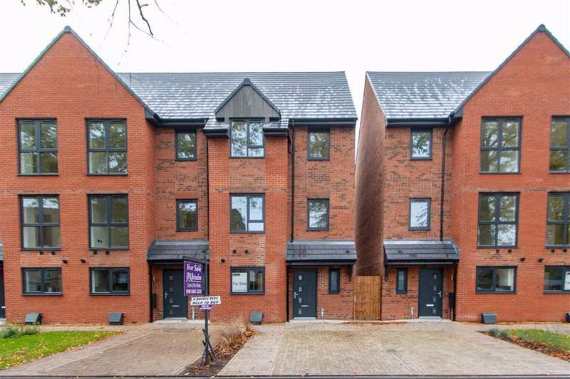 4 Bedrooms End Of Terrace House for sale in 9 Wellington Road, Whalley Range, Manchester, M16