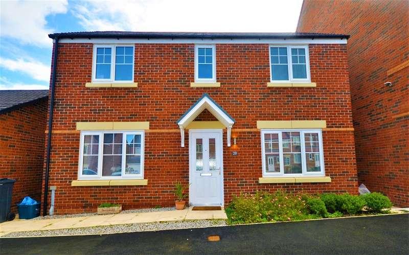 4 Bedrooms Detached House for sale in Llys Garmon, Oakenholt