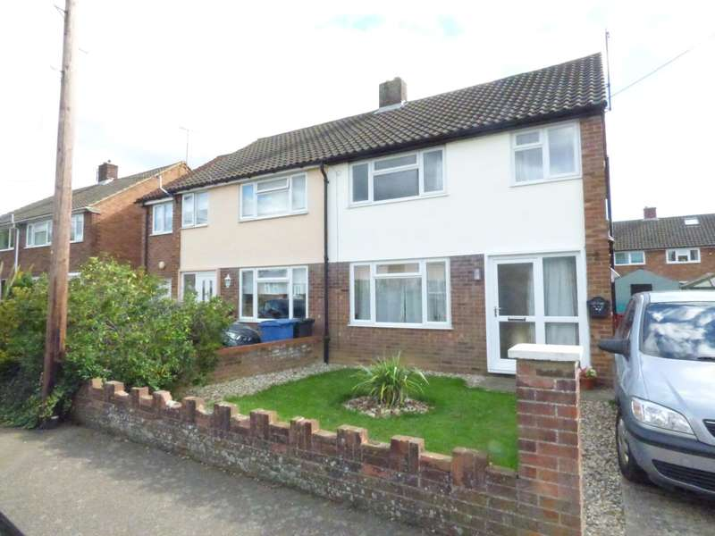 3 Bedrooms Semi Detached House for rent in St. Andrews Road, Great Cornard