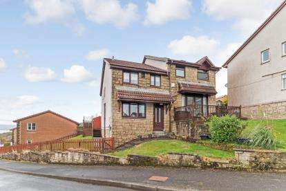 3 Bedrooms Semi Detached House for sale in Luss Place, Greenock