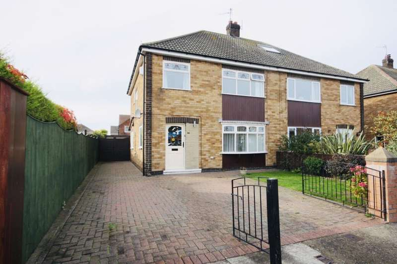 3 Bedrooms Semi Detached House for sale in Sandown Park, Redcar, TS10