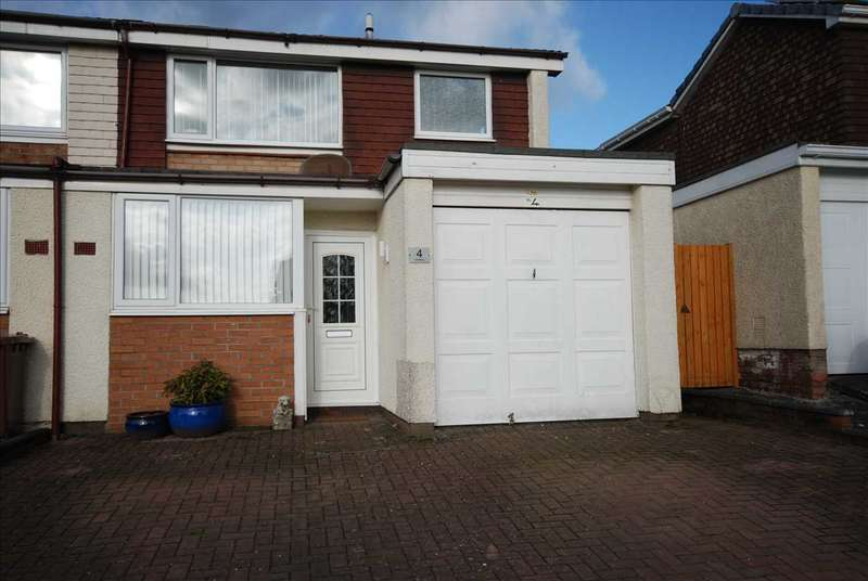 3 Bedrooms End Of Terrace House for sale in Fairhaven Square, Kilwinning