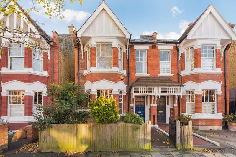 6 Bedrooms Semi Detached House for sale in Wavendon Avenue, Chiswick, London, W4